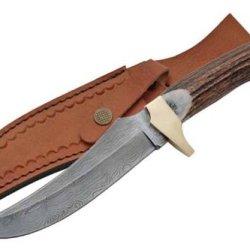 Szco Supplies Brass Guard Hunter Hunting Knife