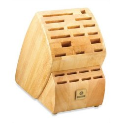 Mundial Solid Wood Kb-23 Series 23-Slot Knife Storage Block