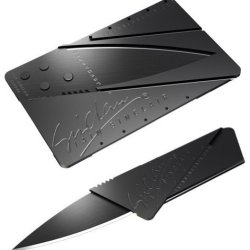 Sinclair Cardsharp Survival Pocket Wallet Knife For Hiking, Camping, Hunting (Credit Card Knife) With Gift Box