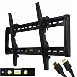 "41B91LAb8RL. SL160  Top 10 TV Mounts for December 17th 2011   Featuring : #9: VideoSecu Tilt TV Wall Mount Bracket for Most 32""  65"" LED LCD Plasma TV Flat Panel Screen Free HDMI Cable and Magnetic Bubble Level MF607B 1QH"