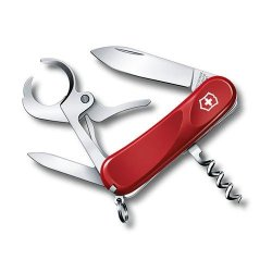 """Victorinox Swiss Army Delemont Collection 85Mm (3.75"""") Cigar 36 Pocket Tool - Red"""