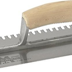 Marshalltown 704S Notched Trowel 3/32 X 3/32 X 1/8 U-Curved Handle