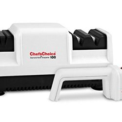Chef'S Choice Diamond Hone Sharpener Professional 100 And Chef'S Choice For Serrated Knives! Bonus Pack!