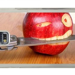 Hipster Samsung S5 Cases Buy Funny Apple Knife Pc Transparent For Samsung S5