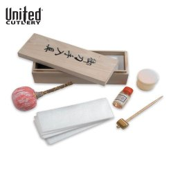 United Cutlery Uc1480 Deluxe Japanese Sword Care Kit