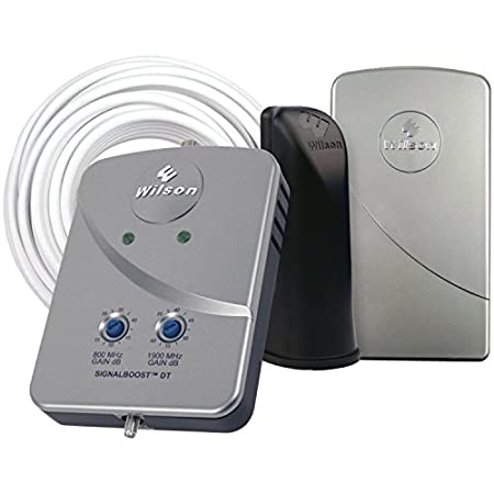 Designed to give the best results when used in a single room, the Wilson Electronics Desktop (DT) Cell Phone Signal Booster increases your cell phone's signal by more than 15 times. It significantly improves your cell phone's overall performance by m...