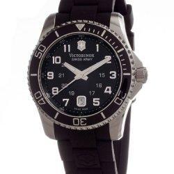 Victorinox Swiss Army Men'S 241435 Maverick G Black Dial Watch