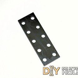 """Kydex Holster Steel Drill Guides For Eyelet Placement - 3/4"""" Spacing"""
