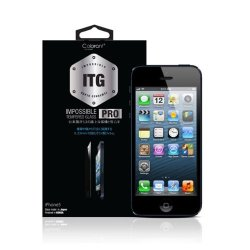 Itg Tempered Glass Pro Colorant 0.33 Mm Ultra Slim For Iphone 5 5S 5C Screen Protector Film 9H Strength Level
