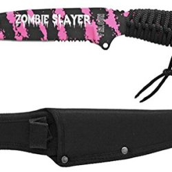 """10"""" Zombie Slayer Knife - Pink"""
