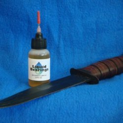 Liquid Bearings 100%-Synthetic Oil For Bark River Or Any Fixed Blade Knife, Superior Corrosion Prevention!