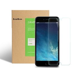 """Everboss Tempered Glass Screen Protector 9H Hardness Clear Crystal For Iphone 6(4.7"""")"""