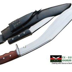 """16"""" Blade American Eagle Euk Kukri - Gurkha Khukuri Or Khukris Knife - Handmade By Ex Gurkha Khukuri House In Nepal"""