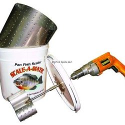 Productive Alternatives Scale-A-Matic Sam-4 Bucket Fish Scaler