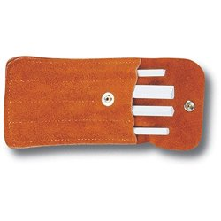 Spyderco Ceramic File Set With Leather Pouch