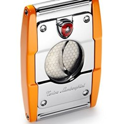 Tonino Lamborghini Precisione Orange Cigar Cutter