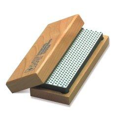 Dmt W8X  8-Inch Diamond Whetstone Sharpener, Extra-Coarse With Hardwood Box
