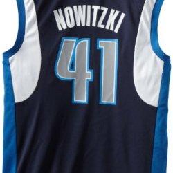 Nba Dallas Mavericks Dirk Nowitzki Alternate Replica Jersey, Large, Blue