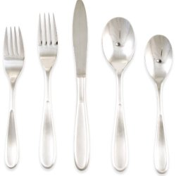 Hampton Forge Silversmiths Messina Satin 20-Piece Flatware Set, 236B0202Ph
