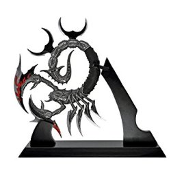 Fantasy Display Scorpion Knife With Stand