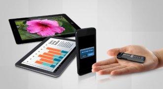 La memoria flash SanDisk Connect tiene un reducido tamaño para llevarla a todas partes