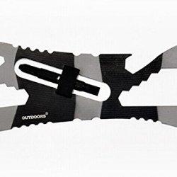 Verany Outdoor Survival Shark/Piranha Multi-Purpose Pocket Tool (Piranha)
