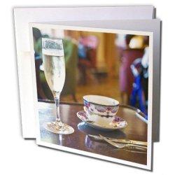 Danita Delimont - Hotels - British Columbia, Victoria, Empress Hotel, Tea-Cn02 Dhr0036 - Davis Herbig - 12 Greeting Cards With Envelopes (Gc_72636_2)