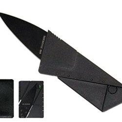 Credit Card Folding Safety Knife With Wallet Case
