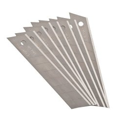 8 X Stanley Knife Snap-Of Replacement Blade - 18Mm - 11-219