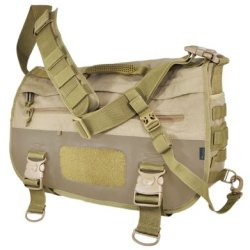 Hazard 4 Defense Courier Laptop Messenger Bag With Molle, Coyote