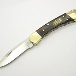 Buck 110 110Brsfg Finger Grove 1964-2014 50Th Anniversary Edition Tang Stamp Lockback Hunter Knife ~ Rare Collectible