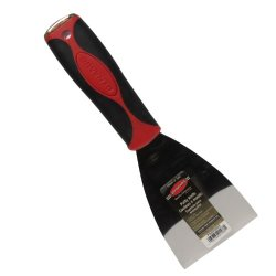 Dynamic Fa005003 Professional Rubber Grip Putty Knife With Hammer End, 3-Inch