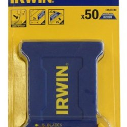 Irwin Tool Bi-Metal Blue Trapezoid Shatterproof Blades - 50 Blades