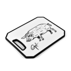 Guy Fieri Non Slip Cutting Board With Pig Image, 11-Inch By 14-Inch