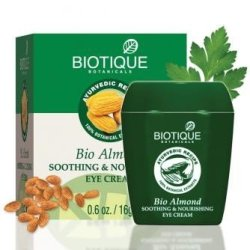 Biotique Almond Under Eye Cream For Dark Circles & Puffiness 16 G