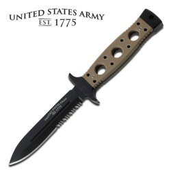A-1004Td Us Army 'Charlie' Fixed Bl3X8 Blade Boot Knife With Tan Bwmcte G10 Handle Ayeuiu56 Hlbv23Rt This Army Boot Knife Is An Officially Licensed Product From The United States Army. It Features A Bead Blasted Black Zd6Dostdl 440C Stainless Steel Blade