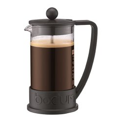 Bodum Brazil French Press 3 Cup Coffee Maker Cafetiere 0.35L / 12Oz Black