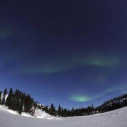 Aurora Over Vee Lake, Yellowknife, Northwest Territories, Canada. 24 X 30 Poster