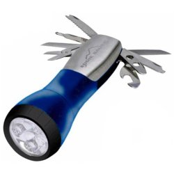 Ultimate 10 Function Multitool Flashlight Blue By Eddie Bauer