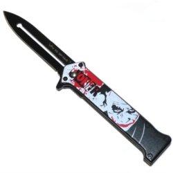 "'The Joker"" Ao ""Why So Serious ?"" Folding Knife"