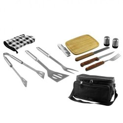 Smokin' Grill - 12Pc Bbq Set W/ Cooler Bag (Pack Of 1 Ea)