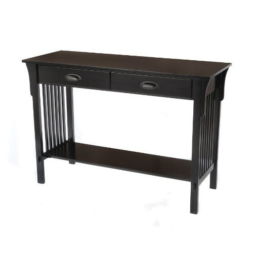 Image of F68414-01 Mission Sofa/Console Table - Black F68414-01 Mission Sofa/Console Table - Black (PRA25125188)