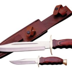 Szco Supplies 2 Piece Hunting Knife Set