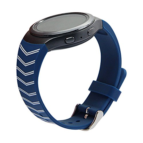 Samsung-Gear-S2-Band-V-MORO-Samsung-Smartwatch-Replacement-Band-for-Samsung-Gear-S2-Blue-and-White