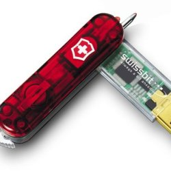 Victorinox Swissmemory 256 Mb Flight (Translucent Ruby)