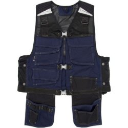 Mascot® Lugo Tool Vest - Charcoal Grey / Black - Us Size Large