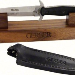 Gerber 30-000412 Mark I Limited Edition 35Th Anniversary Knife With Stand