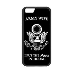 "Jdsitem Unique Proud Army Wife Design Case Cover Sleeve Protector For Phone Iphone 6 4.7"" (Laser Technology)"