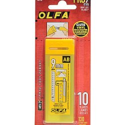 Olfa Art And Craft Replacement Blades Pack Of 10 [Pack Of 4 ]