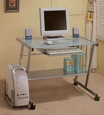 Picture of Comfortable Forward Slant Computer Desk (B0001MKYAI) (Computer Desks)